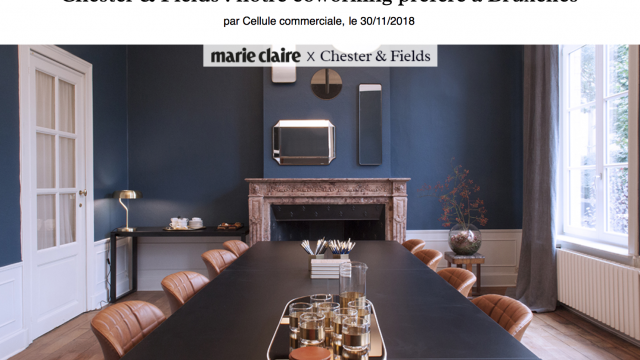 Chester&Fields coworking boutique in Marie Claire